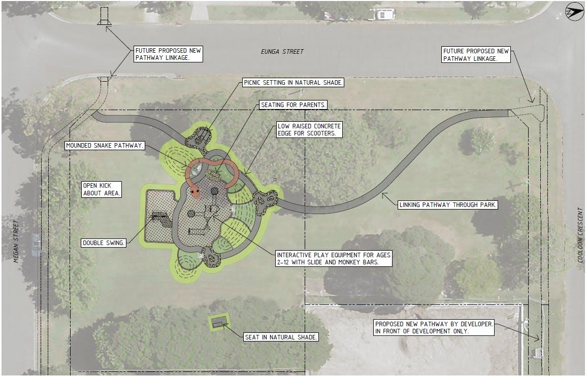 Eunga St Park Concept Design