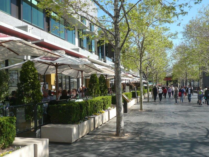 Example Of A Pedestrian Environment Design