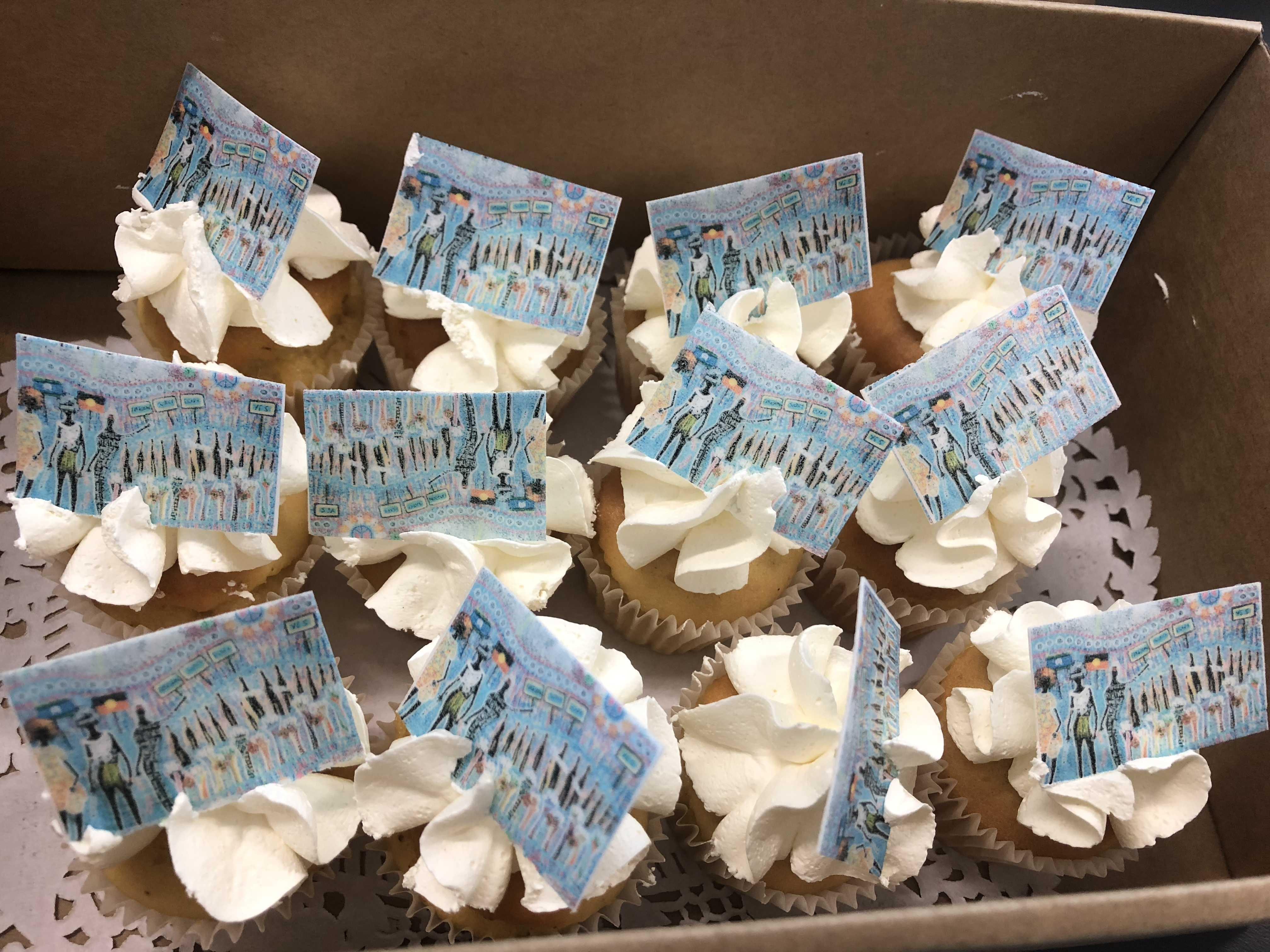 NAIDOC Week cupcakes