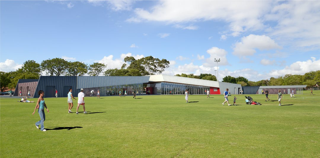 Artist Impression - Ernest Johnson Reserve