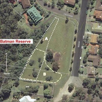 Map Batman Reserve Dog Off-Leash Options