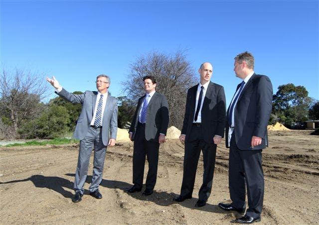 Minister Marmion announces the redevelopment