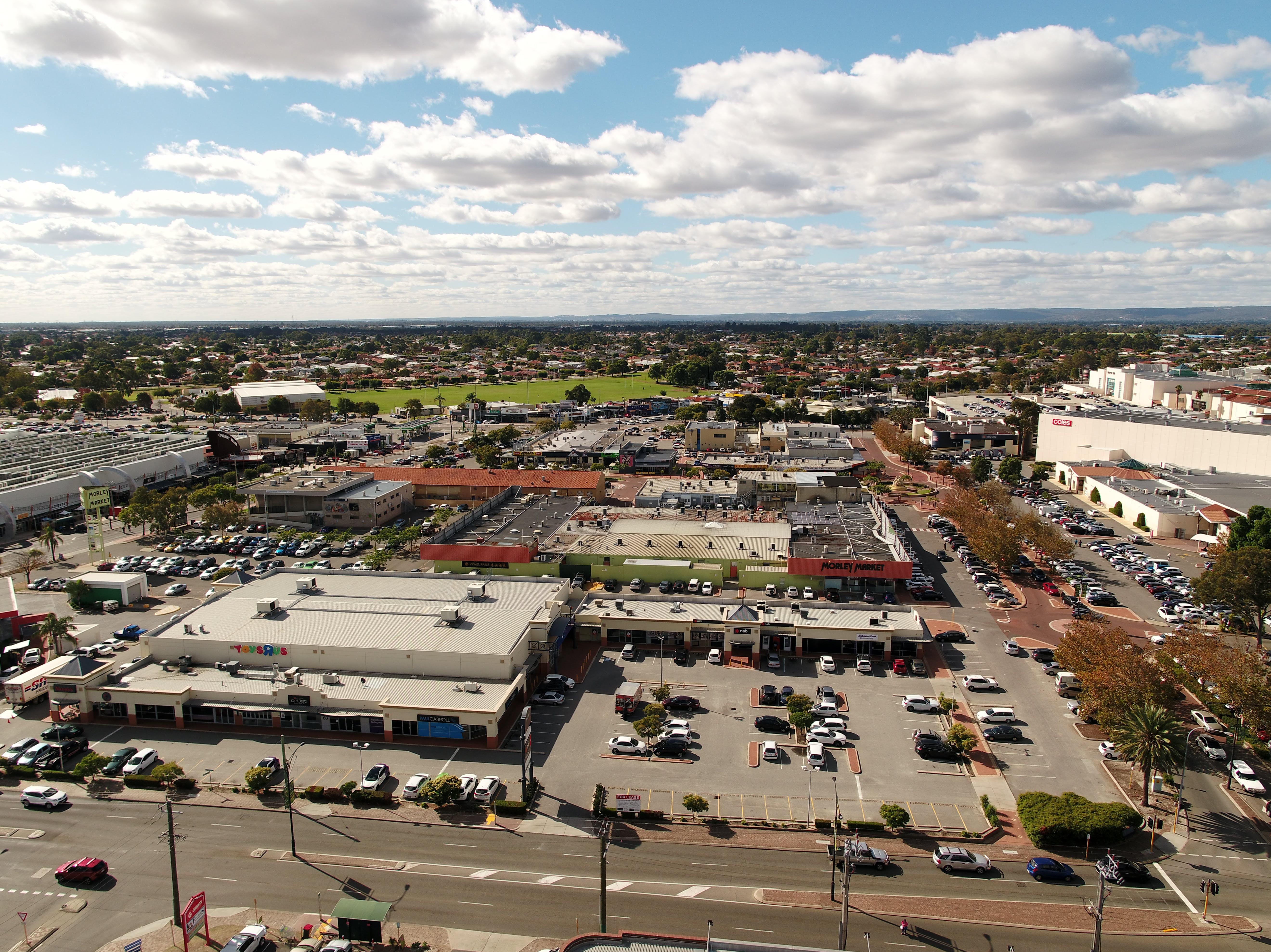 Cnr Bishop And Russell St   Aerial Image