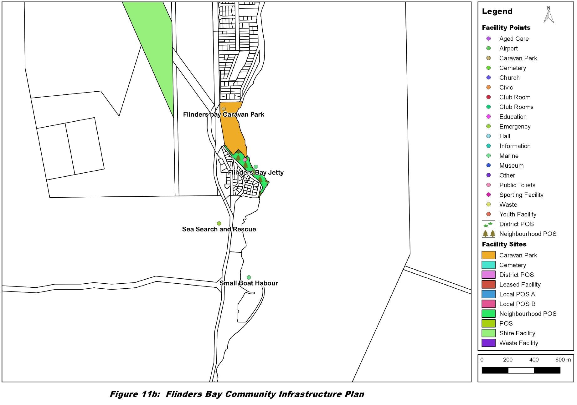 Flinders Bay Map