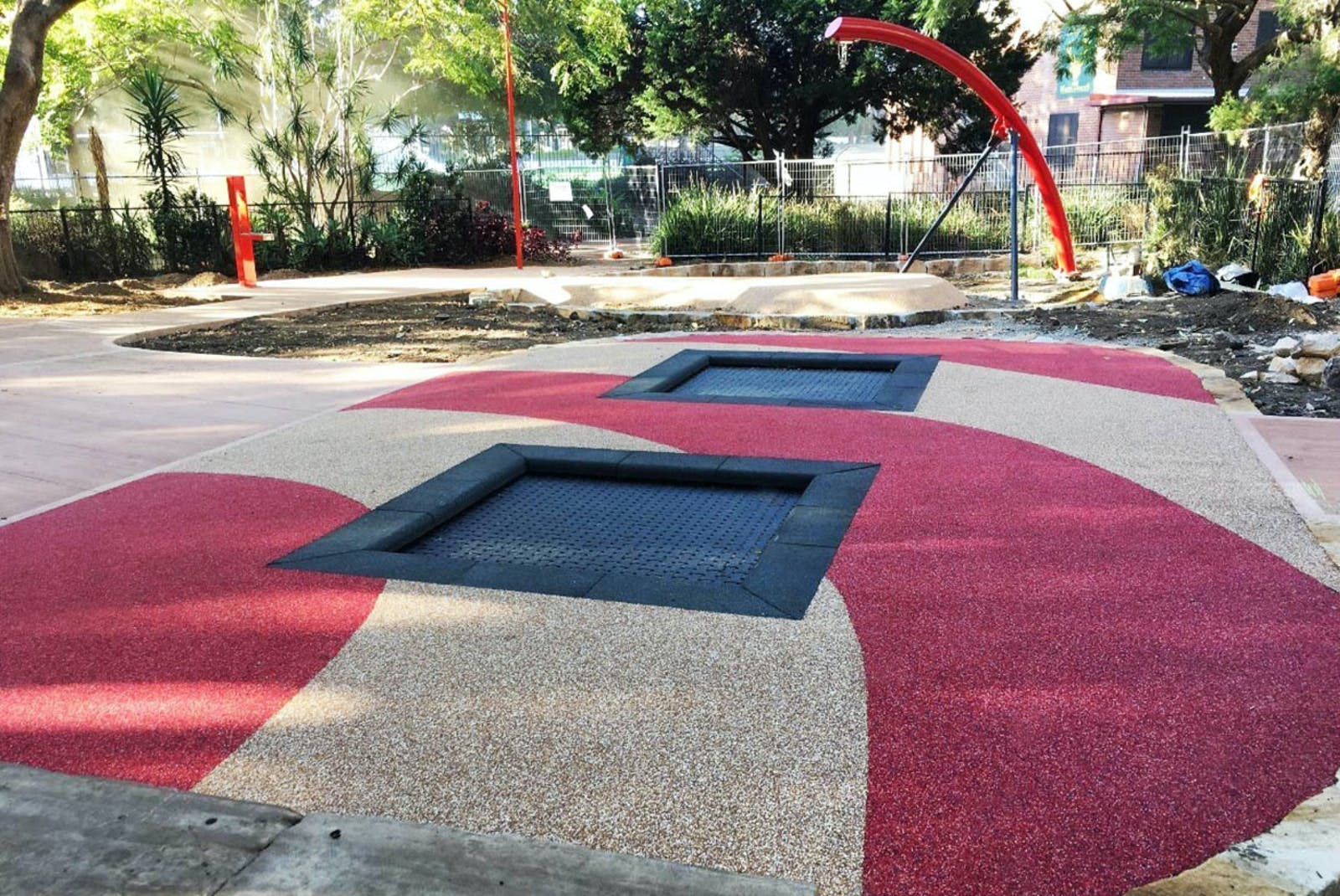 trampolines - Chatswood Park