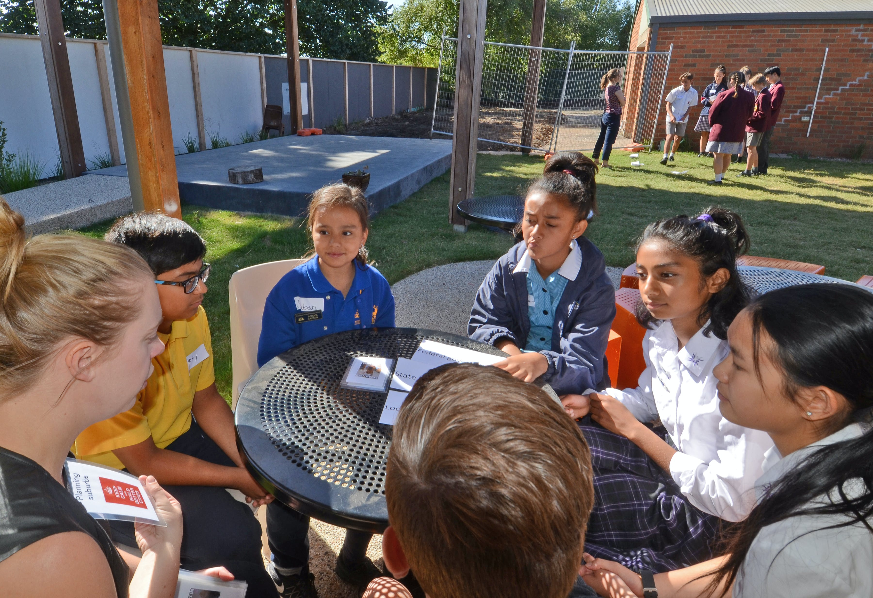 A Youth Panel discussed what was important to them, living and studying in Casey