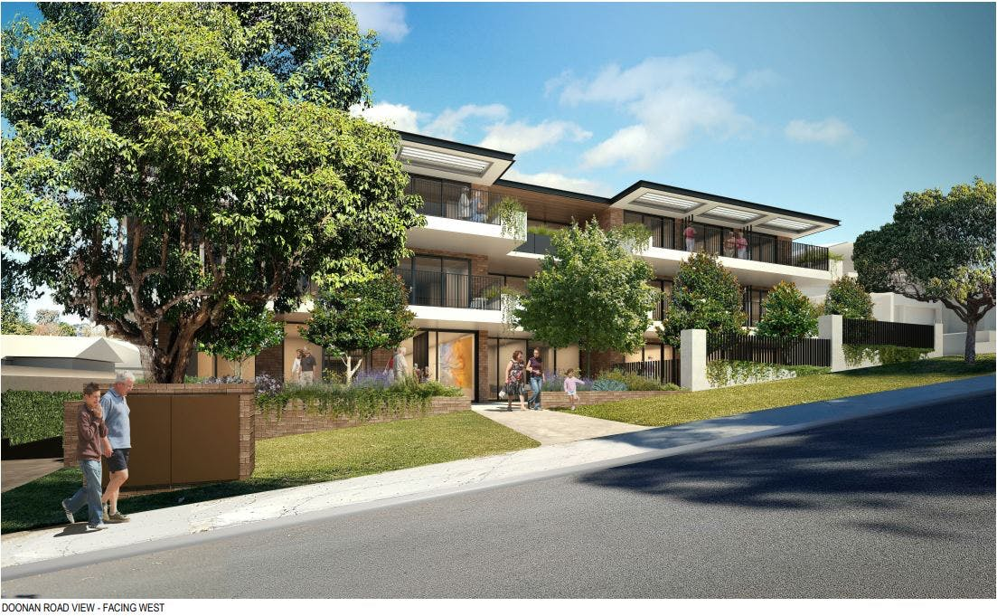 Doonan Road View - Facing West - Residential Aged Care Facility