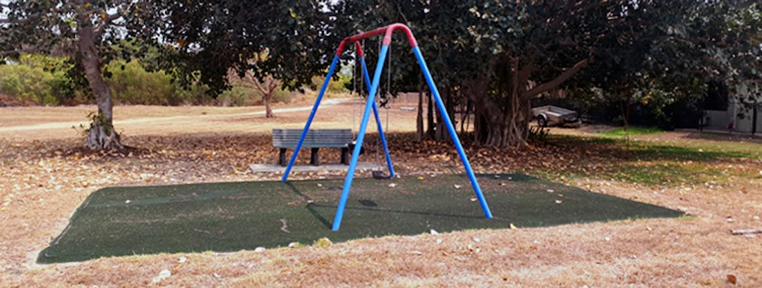 Image of the existing playground at Freshwater Park