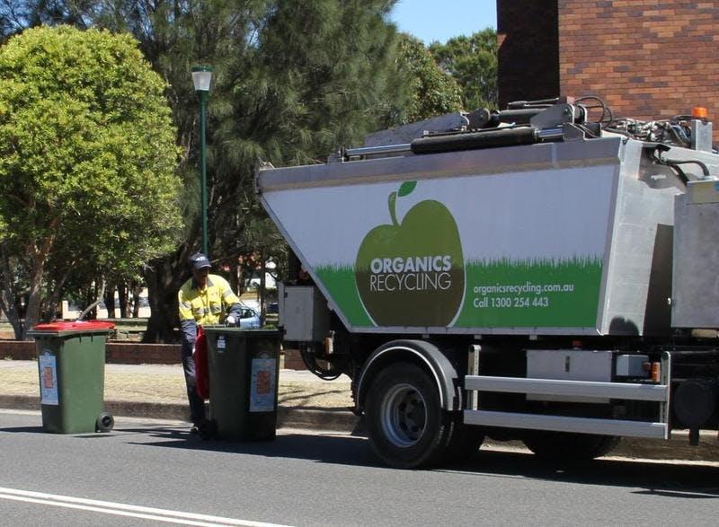 Randwick's food waste truck