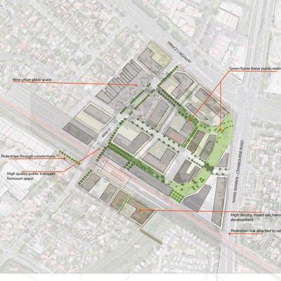 Urban Design Framework Concept Plan