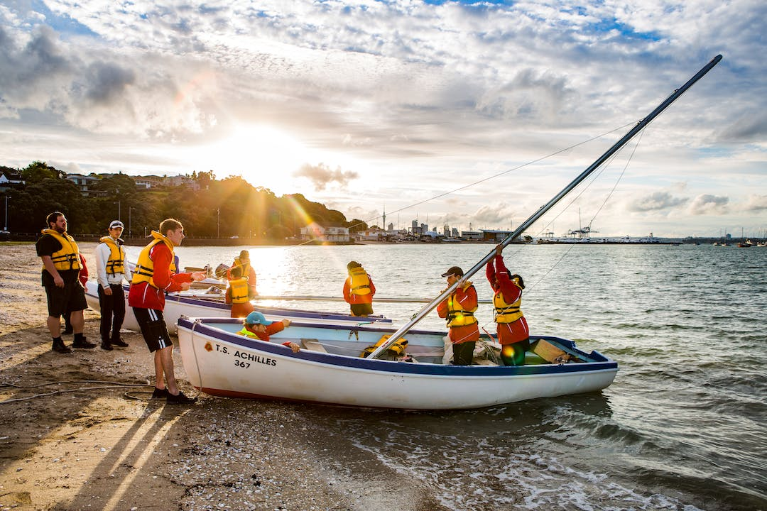 The Ōrākei Local Board supports local community and sporting groups such as the Sea Cadets.