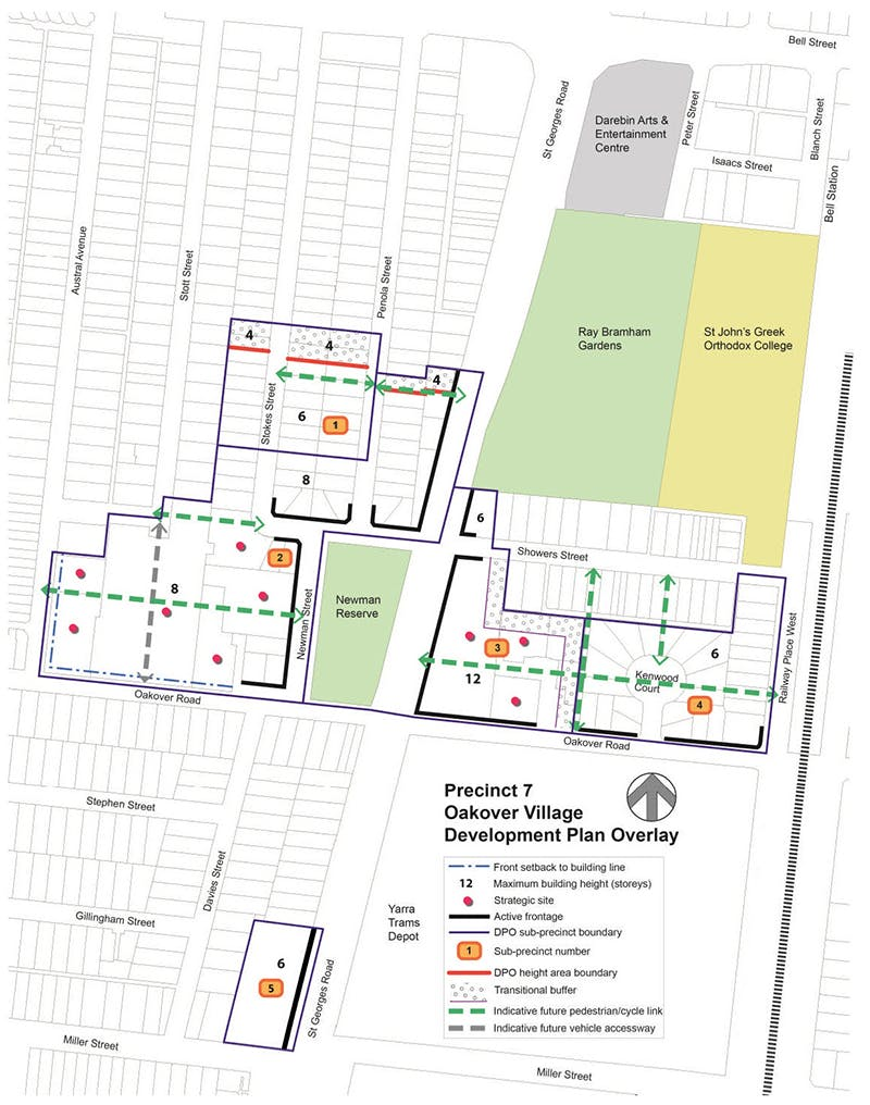 Oakover Village - Development Plan Overlay Concept Plan
