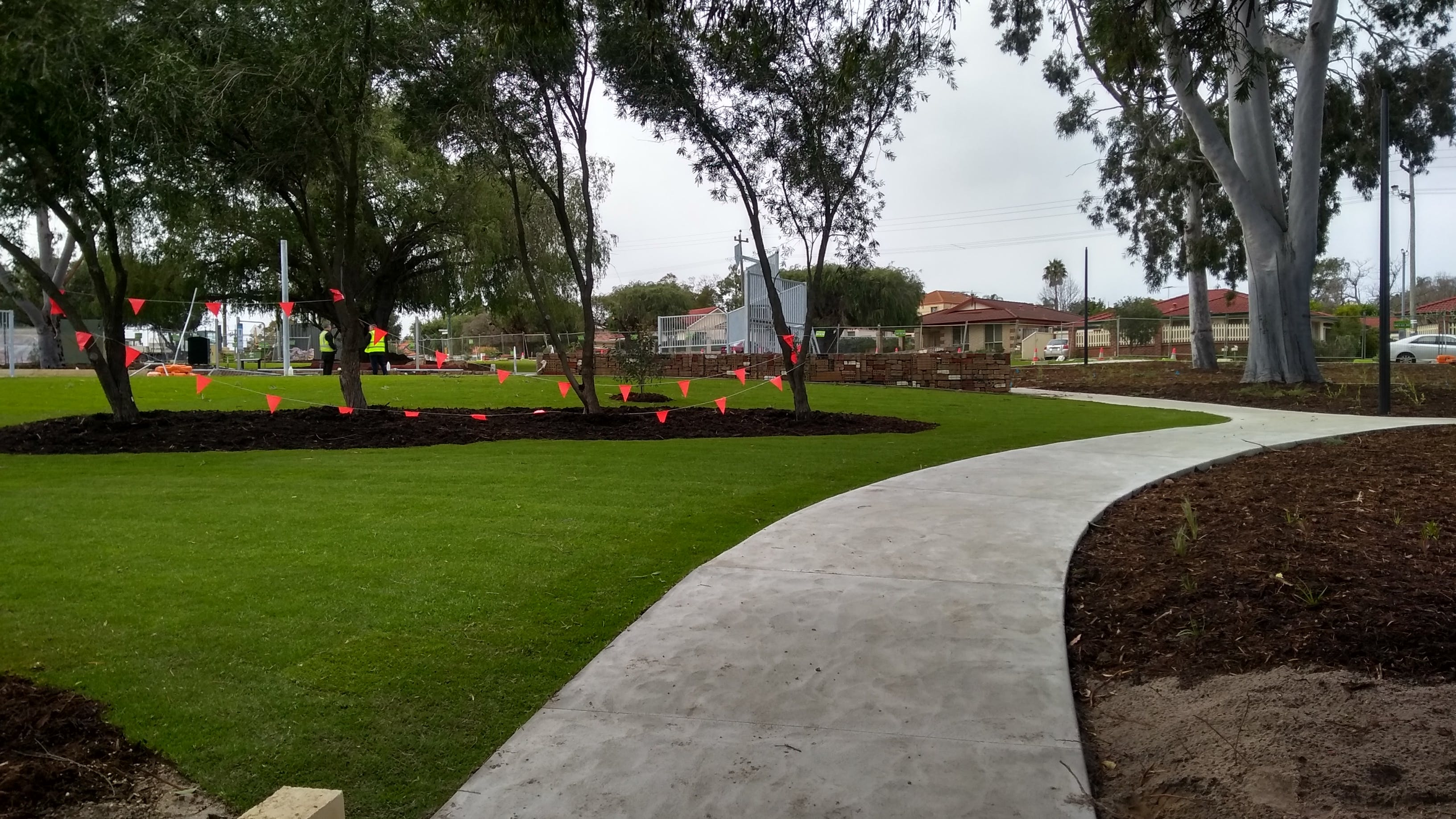 07 New Turf and Path