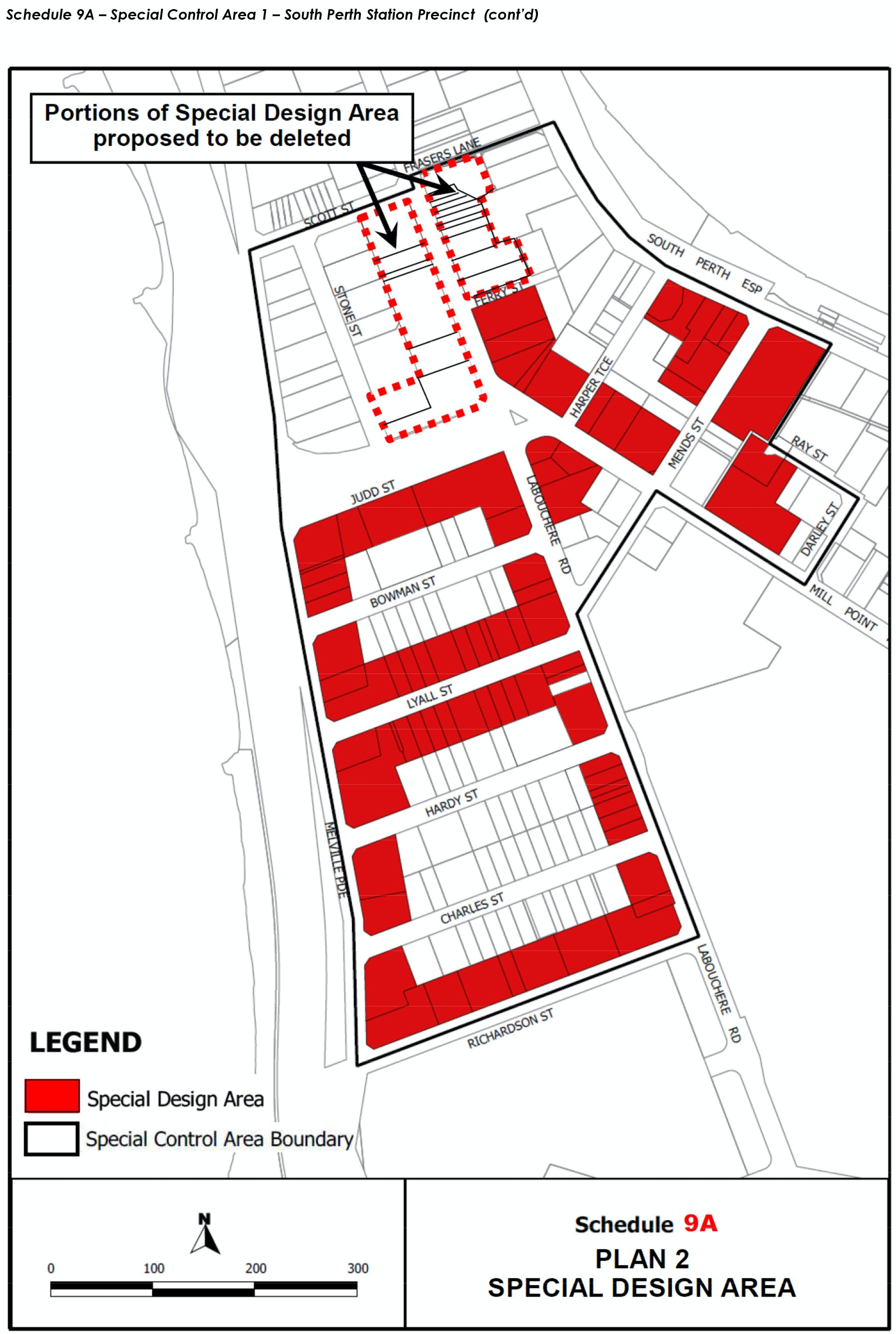 Amendment 46 Special Design Area map