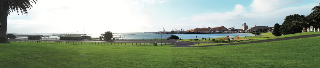 Portland Foreshore - panoramic picture