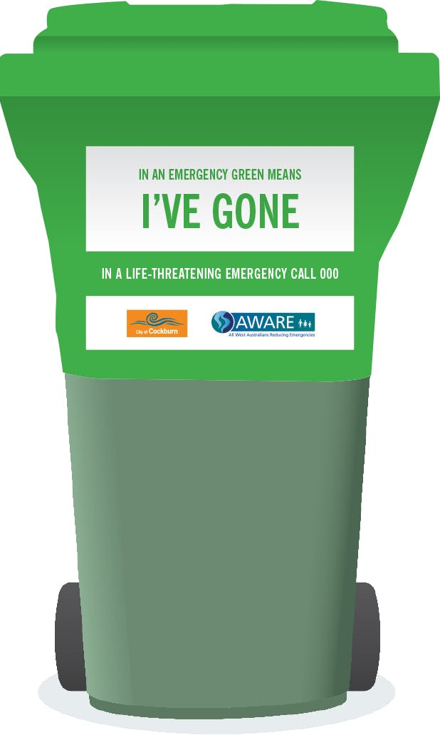 Stay Or Go Image   Green Bin