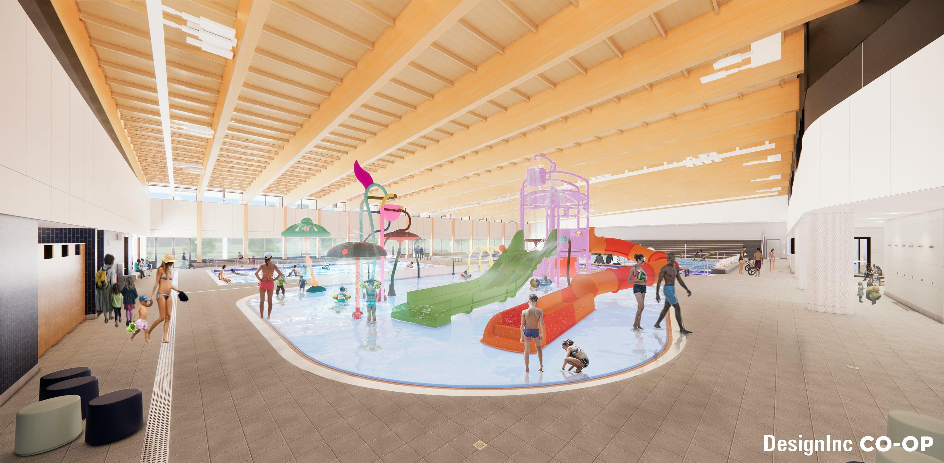Splash Play Zone - Aquatics Hall