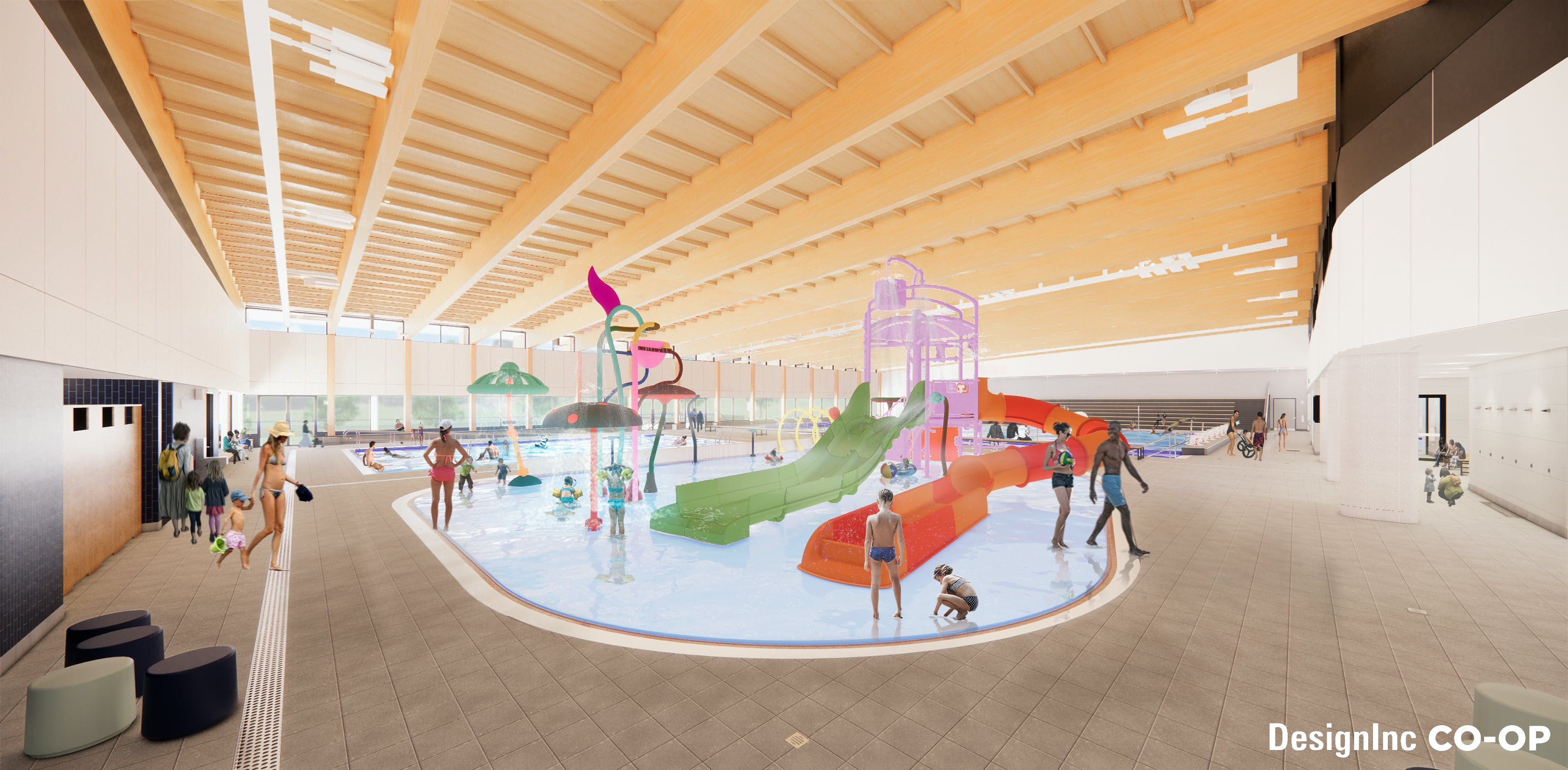 Splash Play Zone - Aquatics Hall