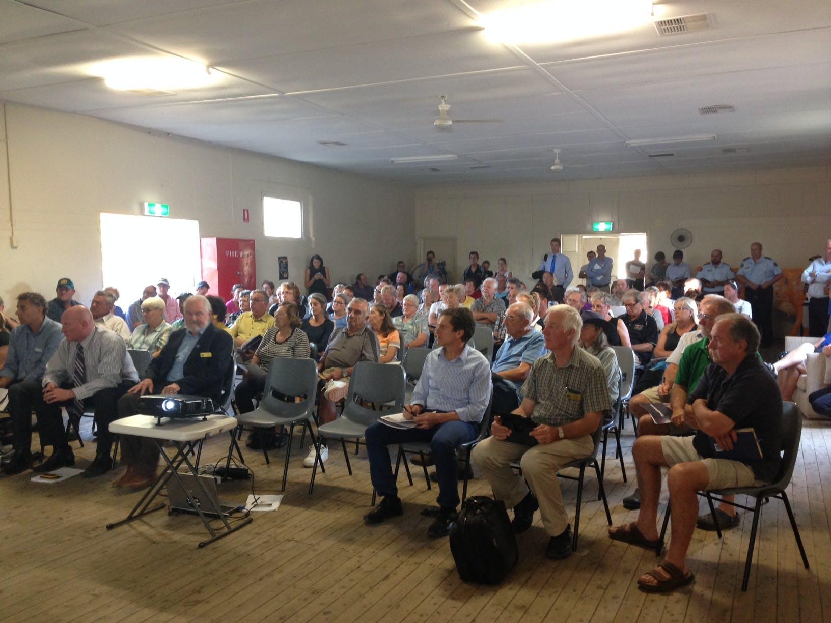 2015 North Wagga Flood Futures Meeting