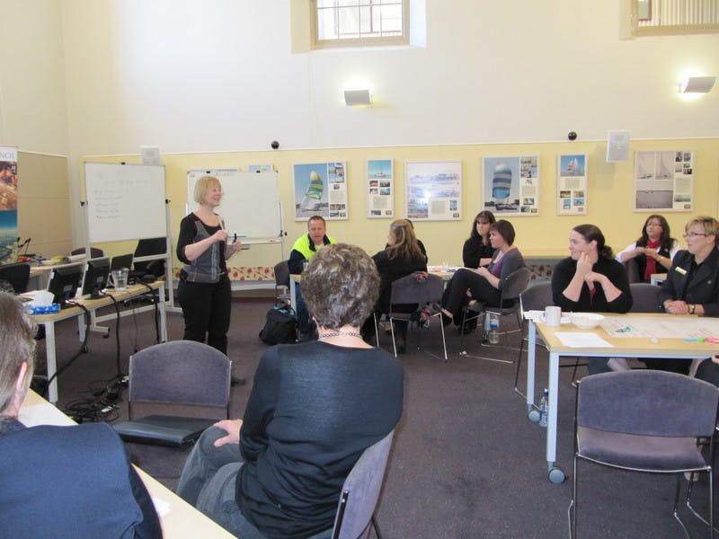 Alexandrina Council Vision 2040 workshops - Facilitator, Natalie Fuller