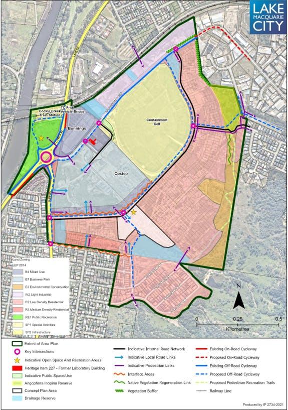 Draft Cockle Creek Precinct Area Plan.PNG