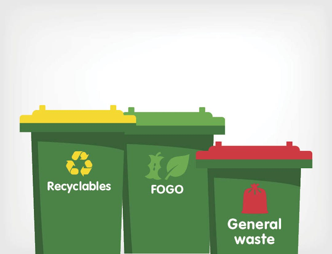 he City of Kalamunda is considering moving to a three bin waste and recycling system, in order to divert more waste from landfill and to improve the recovery of materials.