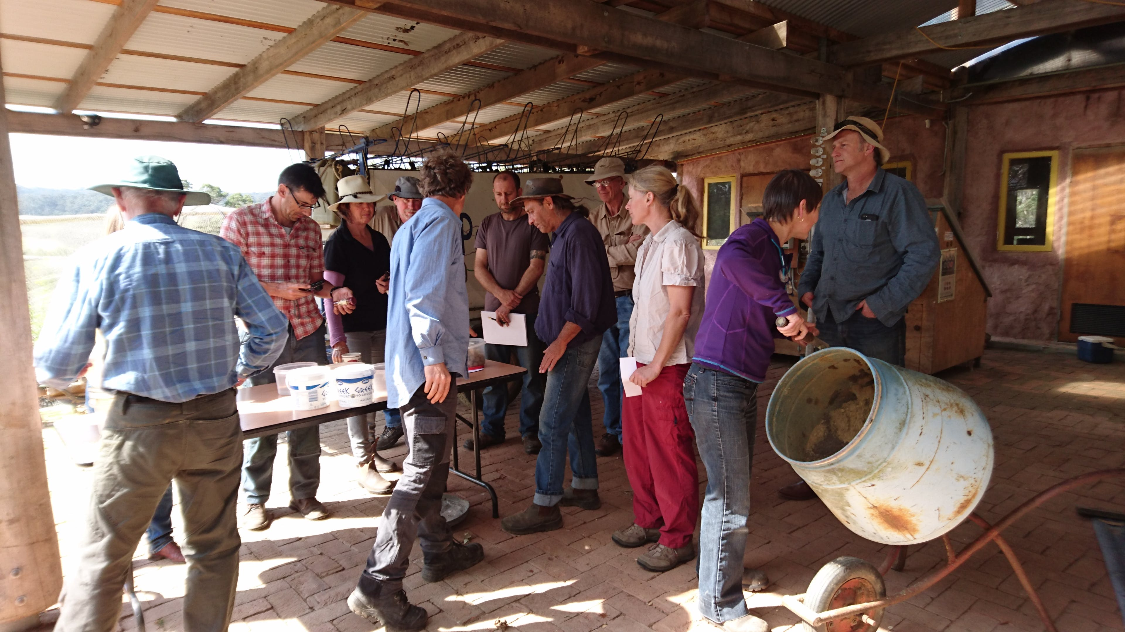 Seedball workshop for landholders on Threatened Species Day