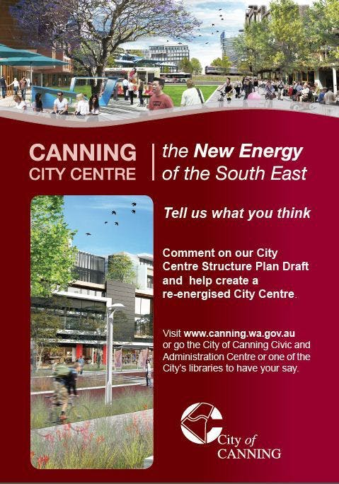 Canning City Centre Comment on the Draft Structure Plan