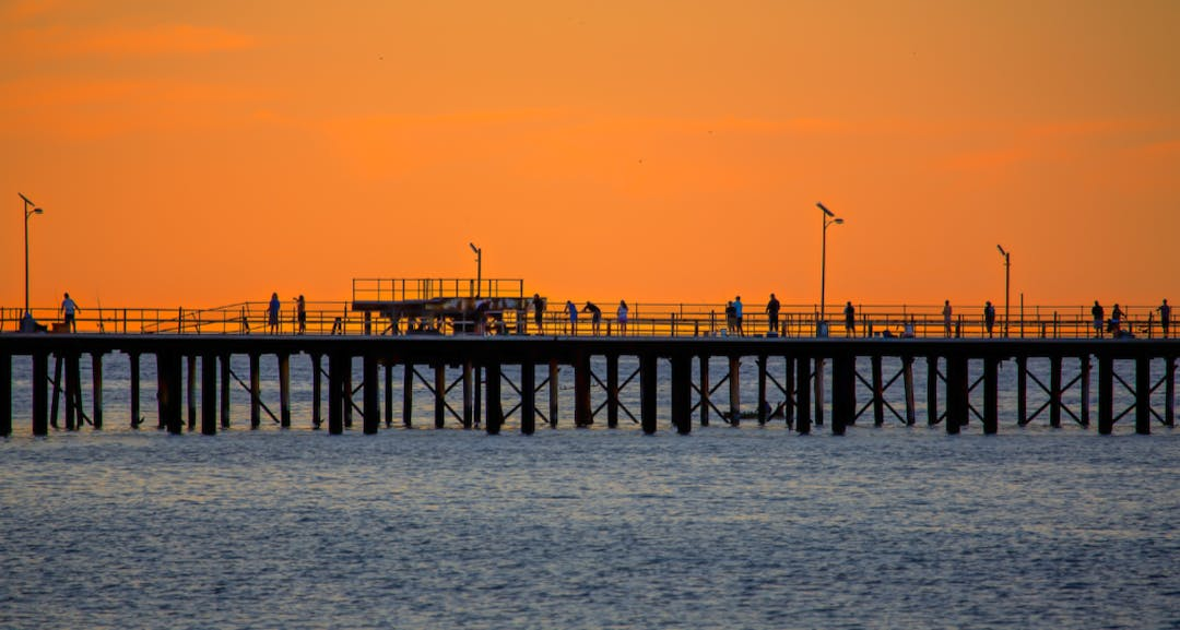 Rapid bay jetty sunset med res