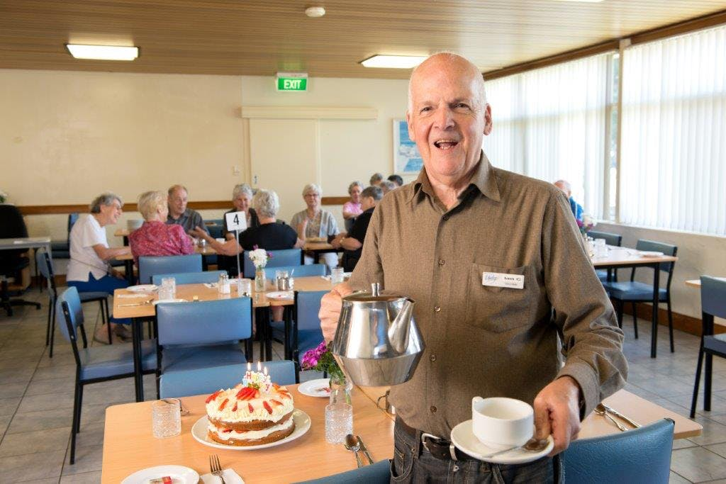 Volunteering at the Circuit Cafe, Unley Community Centre