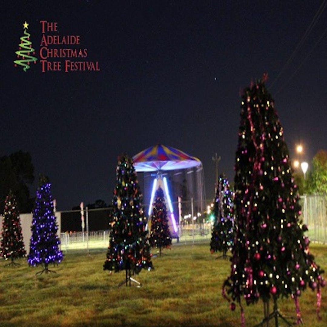 Adelaide christmas tree fesitval logo