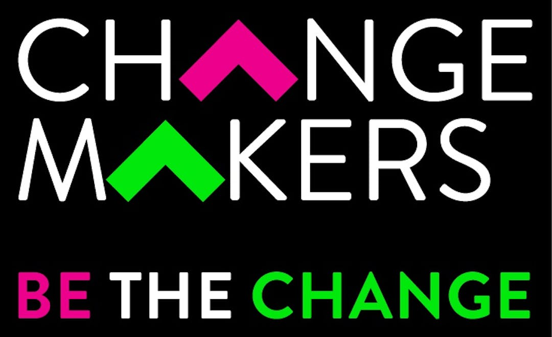 Change makers logo graphic