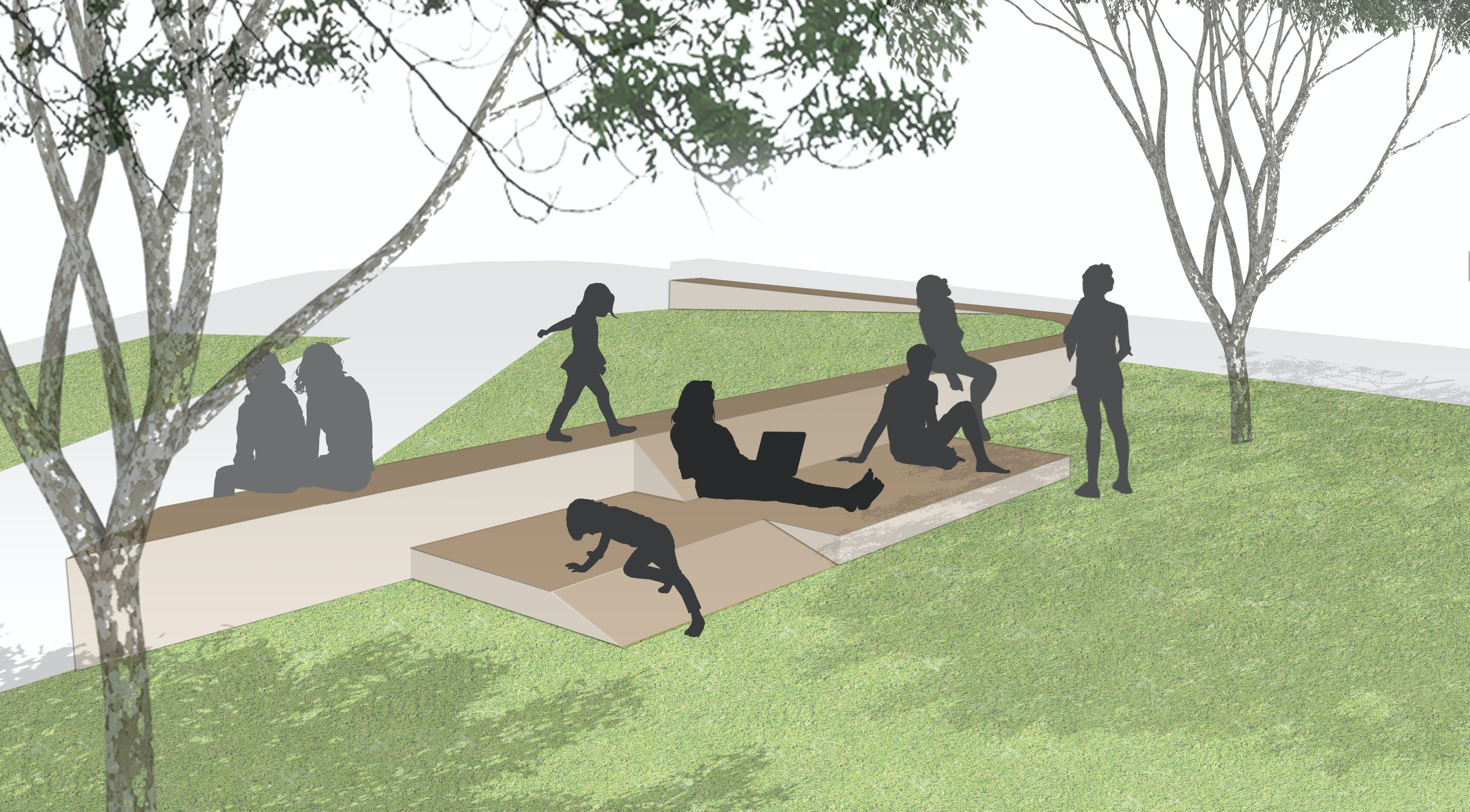 Brick Lounger concept drawing