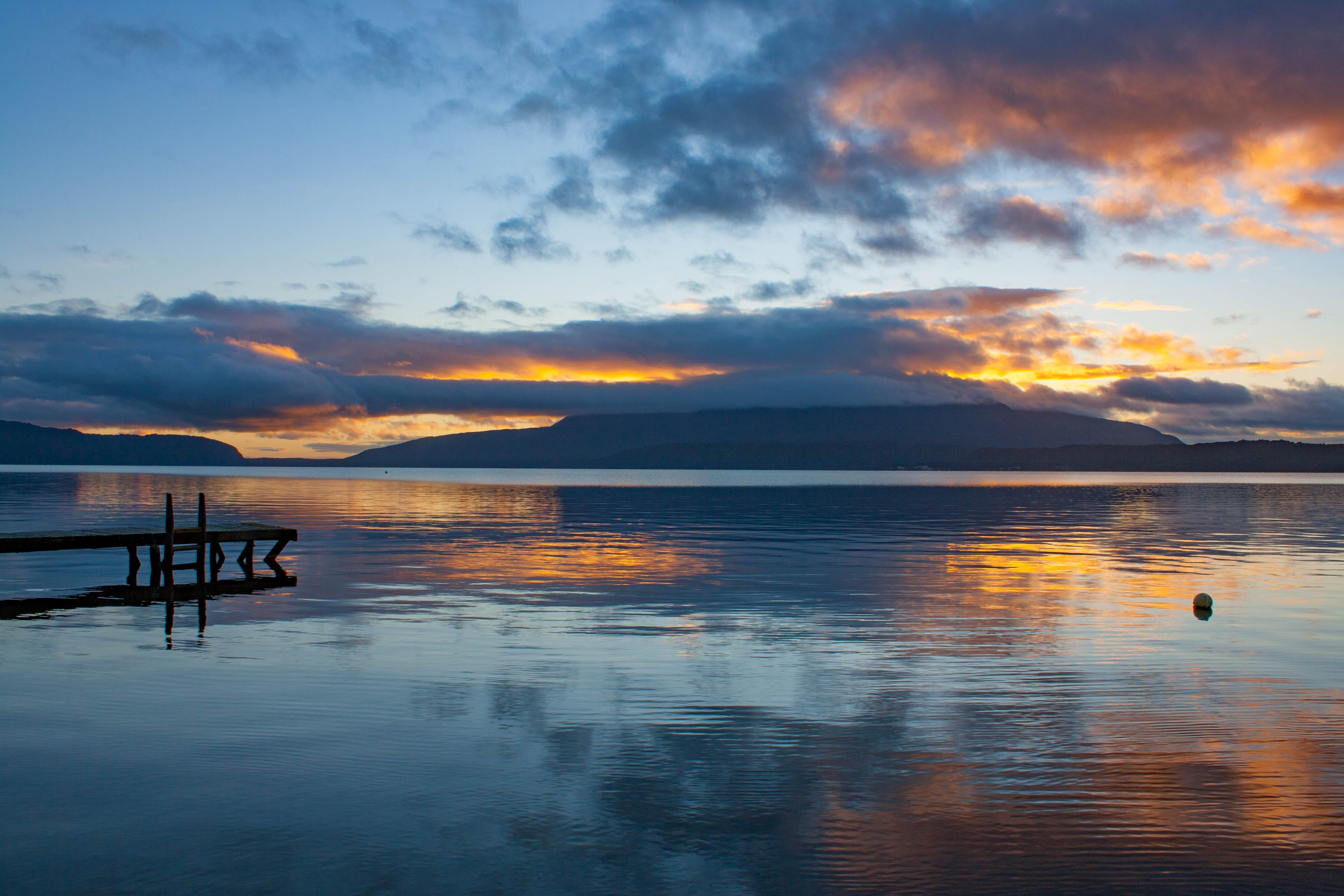 #73 Lake Tarawera Sunrise