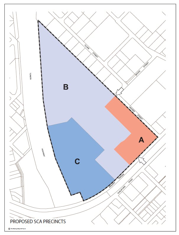 Proposed Modified Boundaries Map