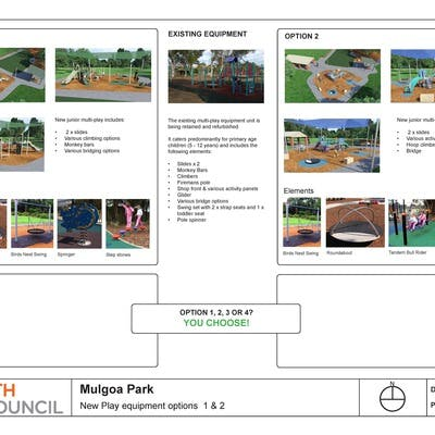 Mulgoa Park Playground Options 1 And 2