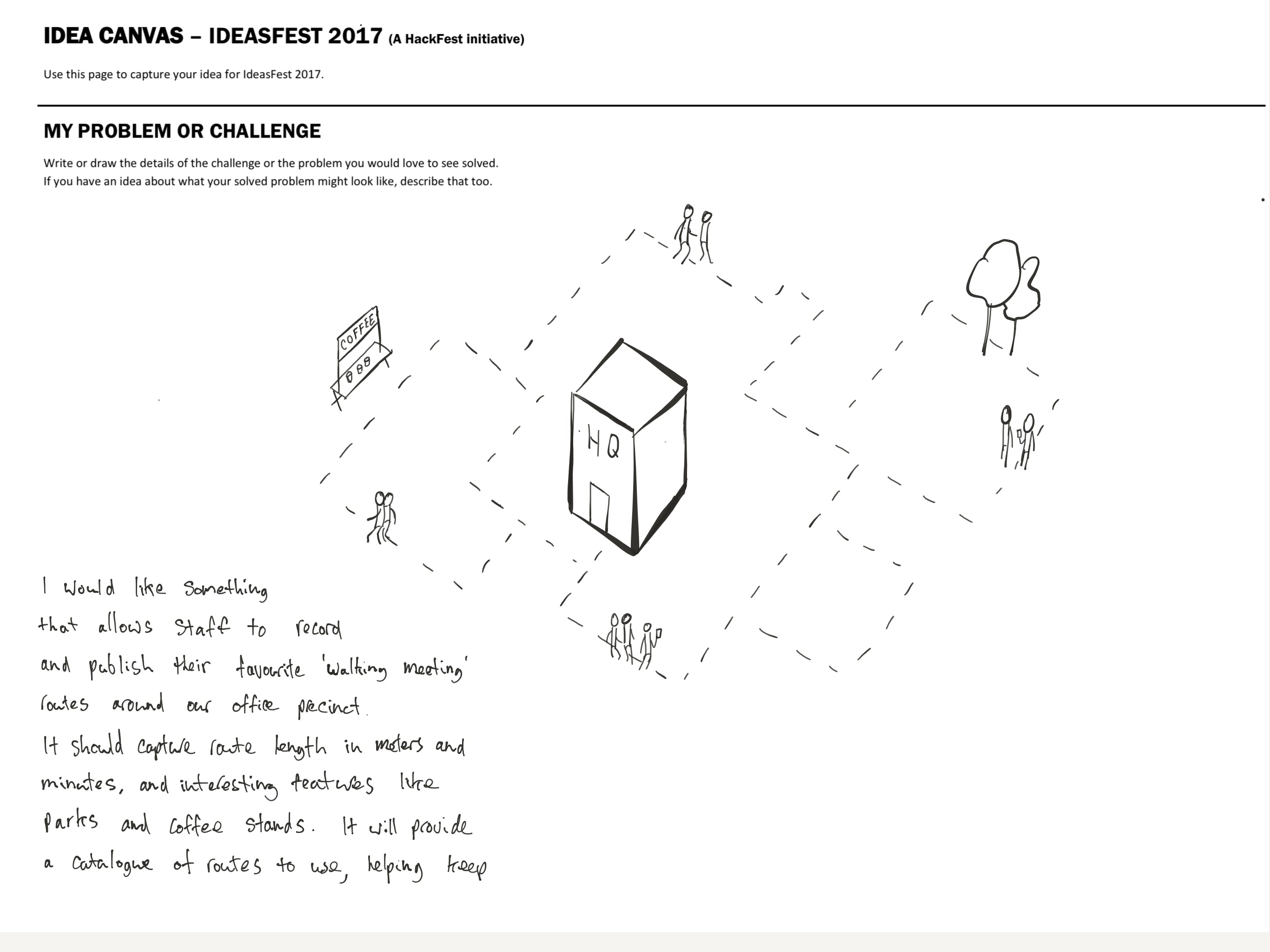Ideasfest 2017 - Walking Meeting