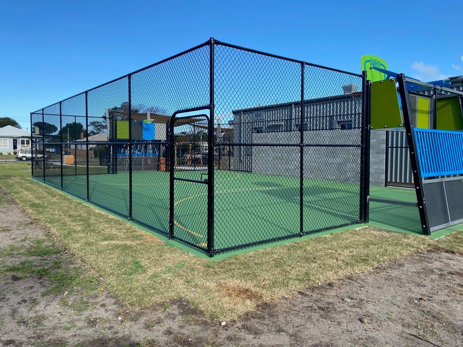 Example multi-use recreational facility