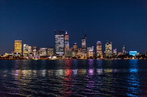 City of Perth skyline