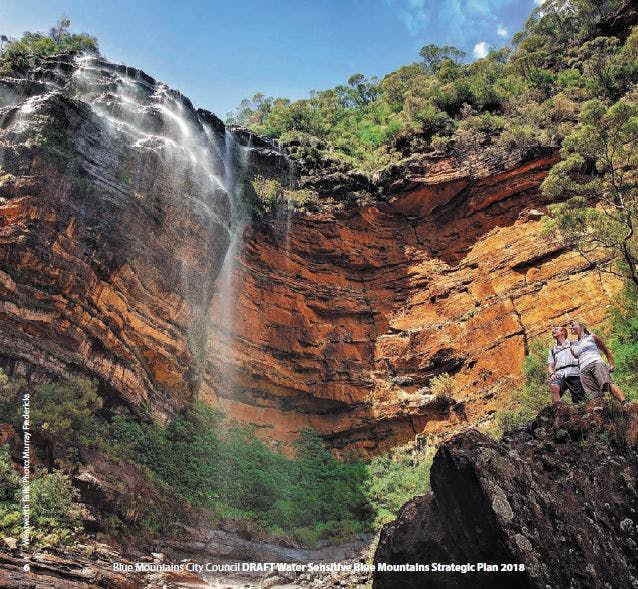 Wentworth Falls. Photo: Murray Fredericks