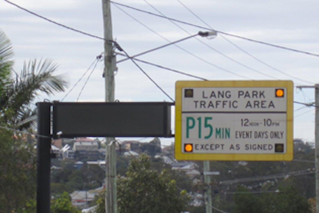Lang Park Traffic Area survey