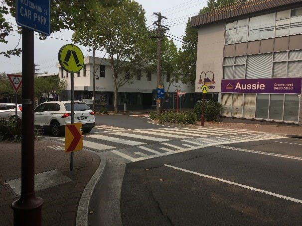 Raised Pedestrian Crossing Example