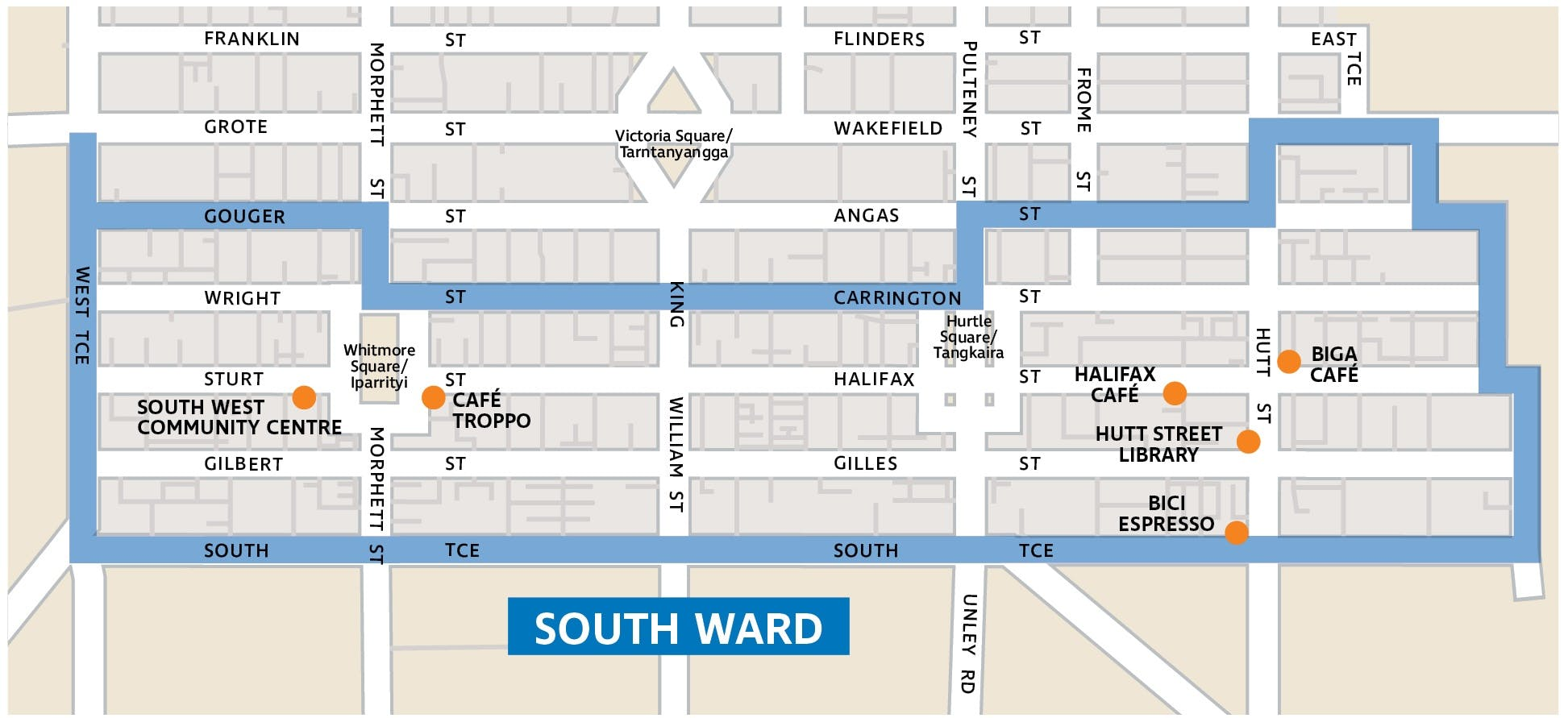 South Ward Map