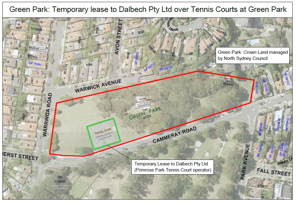 Fig 3 Temporary Lease to Delbech Pty Ltd over Green Park Tennis Courts.png