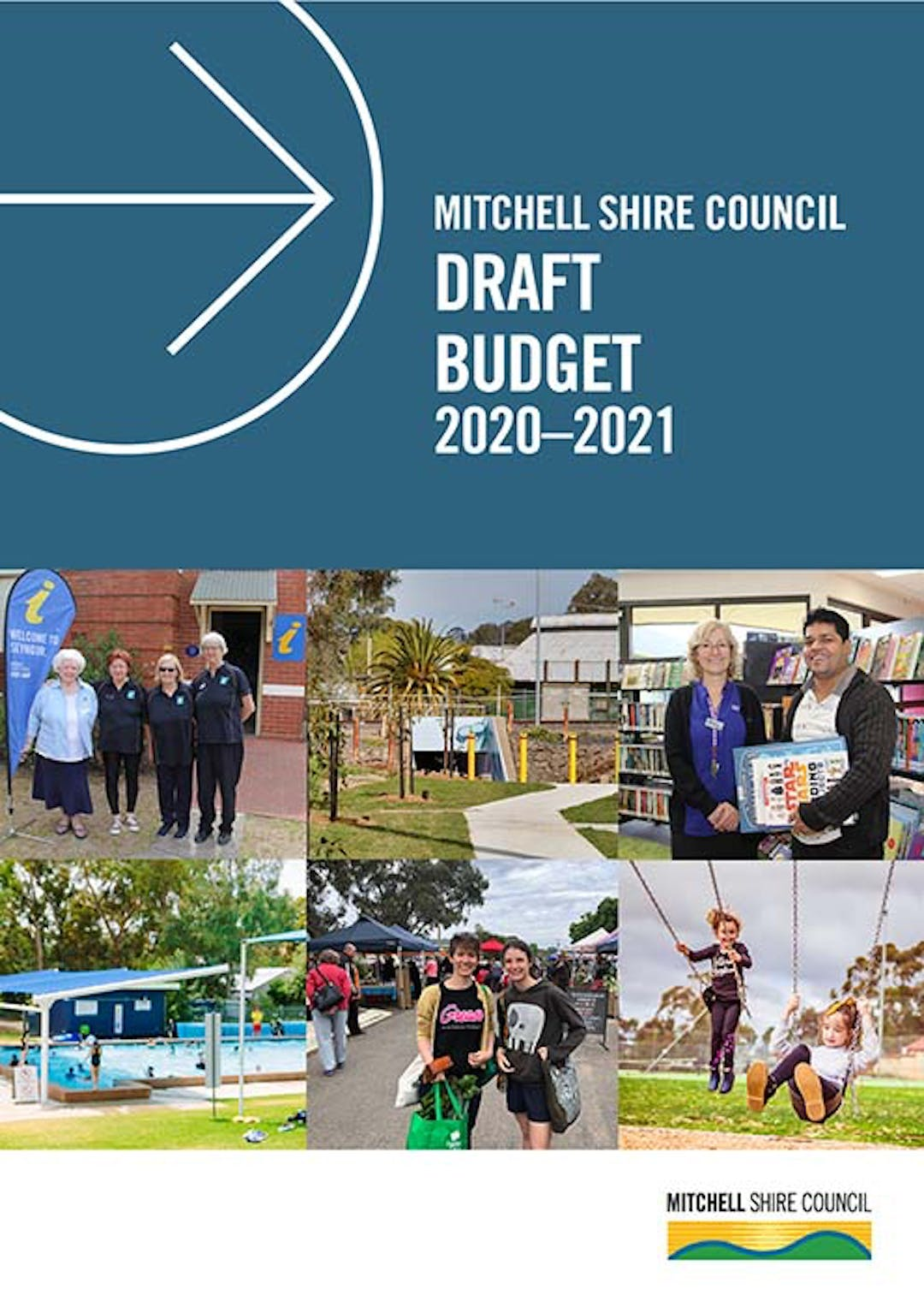 Budget document cover