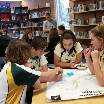 Morisset High School planning workshop gets serious