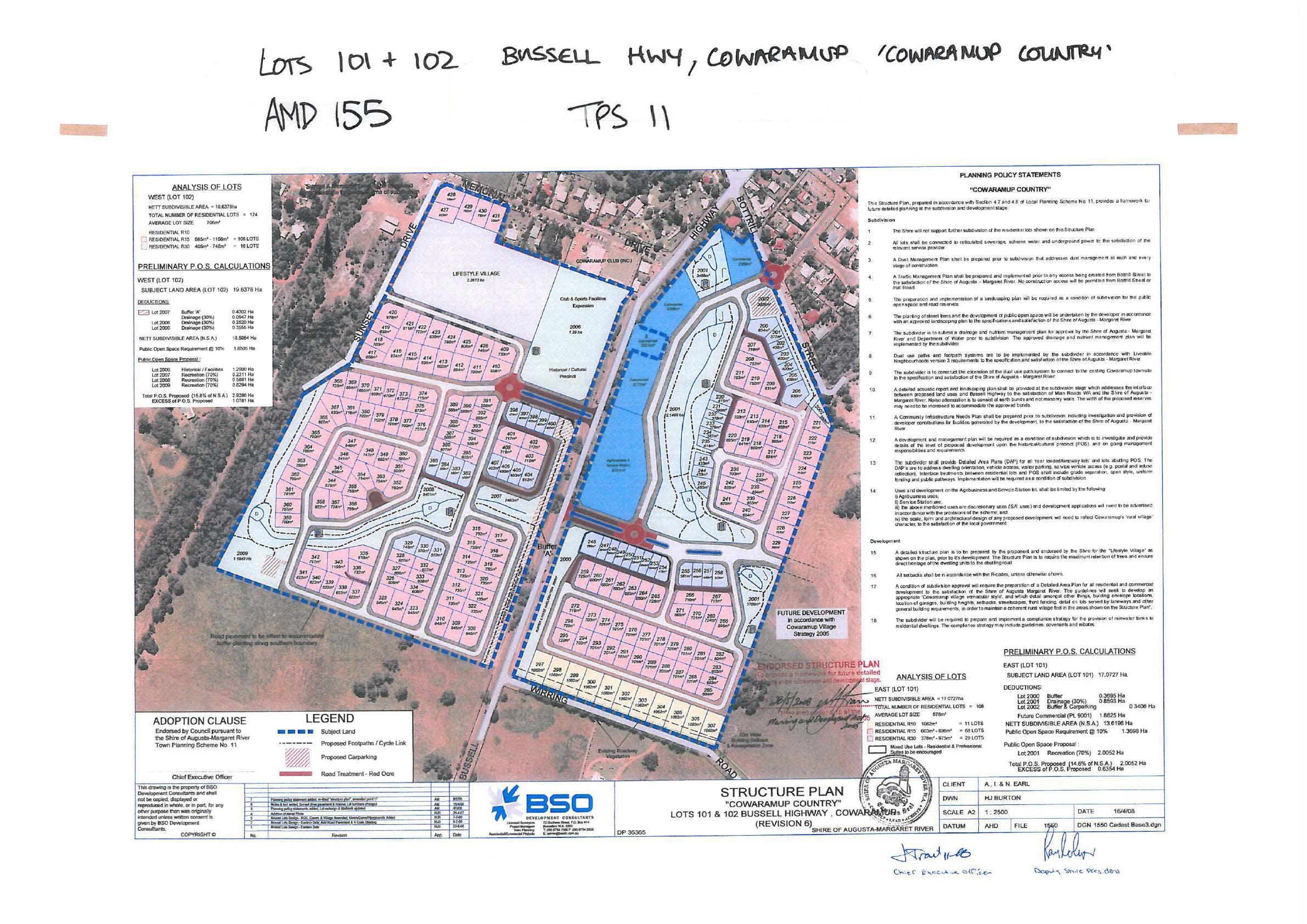 Cowaramup Structure Plan