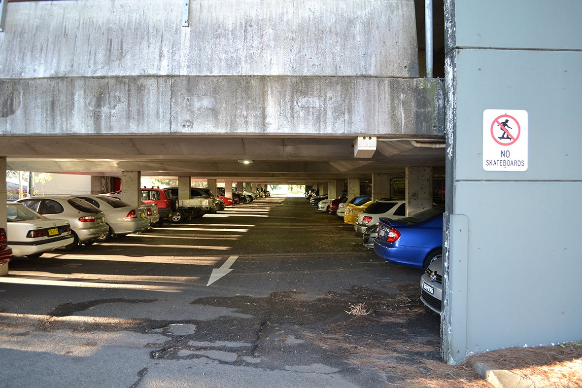 Springwood Station Car park