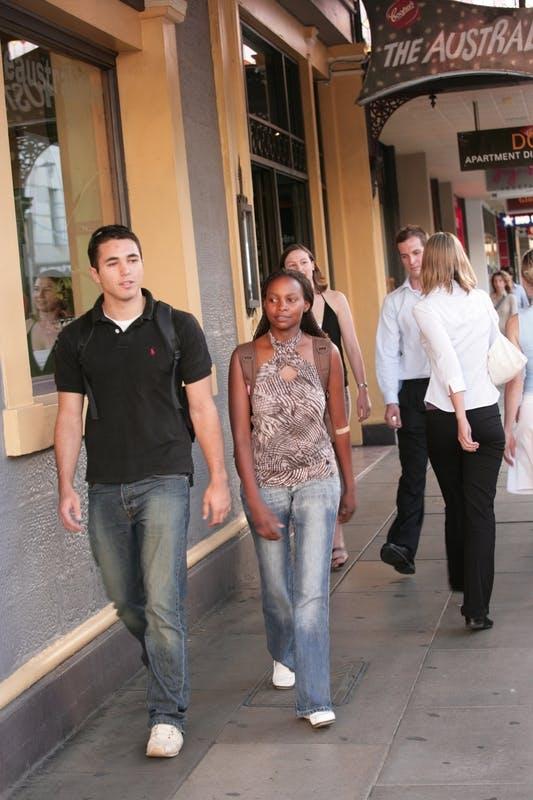 Rundle Street Pedestrians