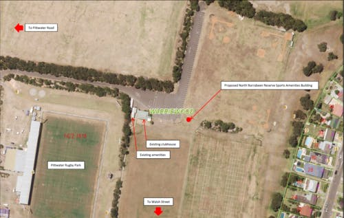 Nth Narrabeen Reserve Sports Amenities Building